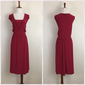 Lane Bryant Cranberry Sleeveless Dress 18/20